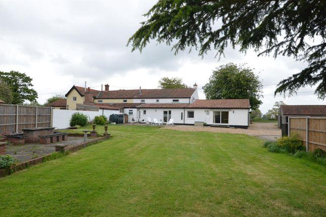 Thumbnail Semi-detached house for sale in Welborne, Dereham