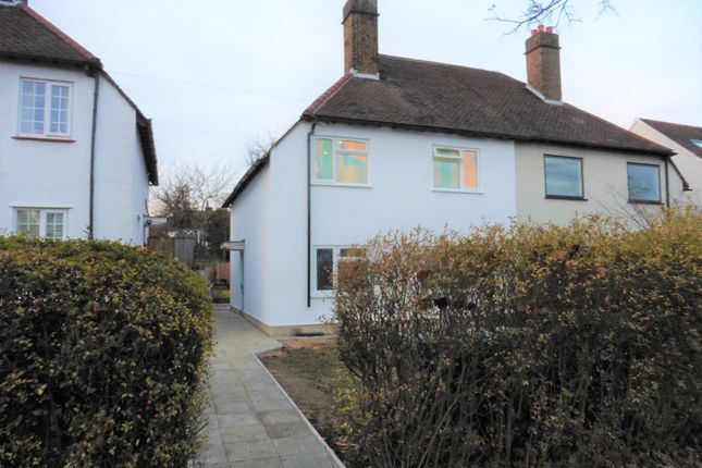 Thumbnail Semi-detached house to rent in Durnsford Road, Bounds Green, London