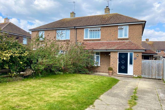 3 bed semi-detached house to rent in Roundstone Drive, East Preston, Littlehampton BN16
