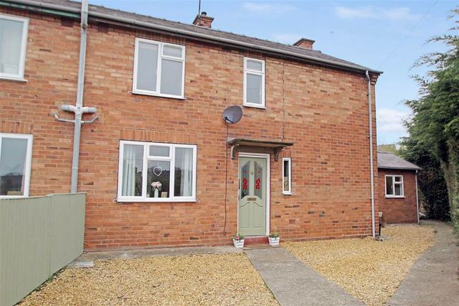 Thumbnail Semi-detached house for sale in Castlefields, Whittington, Oswestry
