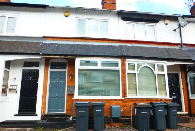 Thumbnail Terraced house for sale in Aubrey Road, Harborne, Birmingham