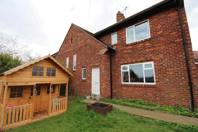 Thumbnail Semi-detached house for sale in Harewood Avenue, Woodlands, Doncaster