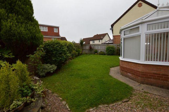 Garden of Westmoor Close, Plymouth, Devon PL7