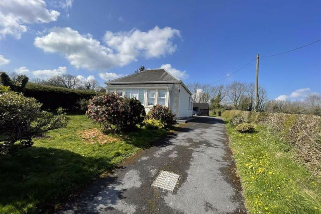 Thumbnail Detached bungalow for sale in Pontantwn, Kidwelly