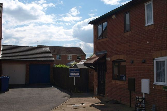 Thumbnail Semi-detached house to rent in Torrance Close, Branston, Burton-On-Trent, Staffordshire