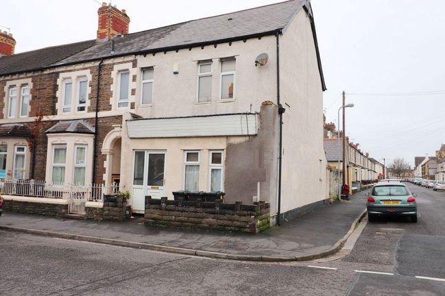 Thumbnail Flat for sale in Habershon Street, Splott, Cardiff