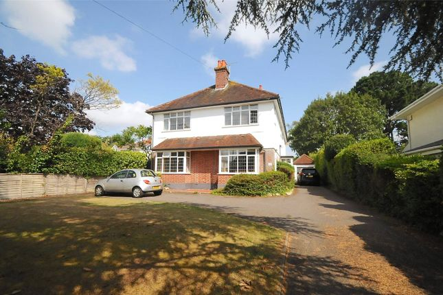 Thumbnail Detached house for sale in Canford Cliffs Avenue, Poole, Dorset