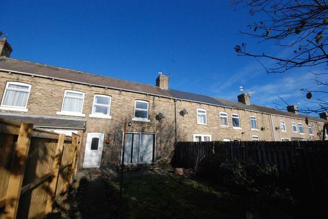 Thumbnail Terraced house for sale in Eighth Row, Ashington