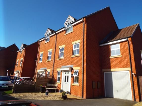 Thumbnail Semi-detached house for sale in King Cup Drive, Huntington, Cannock, Staffordshire