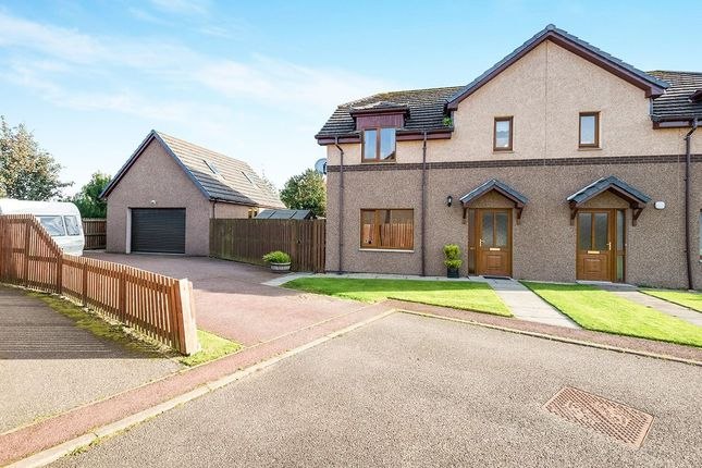 Thumbnail Semi-detached house for sale in East Newfield Park, Alness