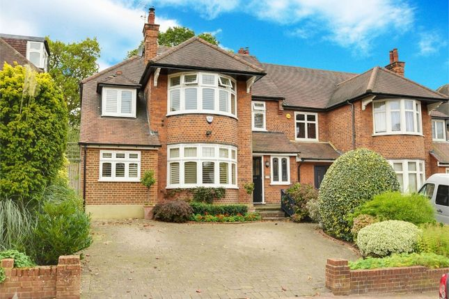 Thumbnail Semi-detached house for sale in Ringwood Avenue, East Finchley, London