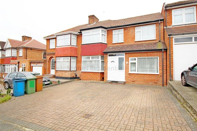 Thumbnail Semi-detached house to rent in Coledale Drive, Stanmore