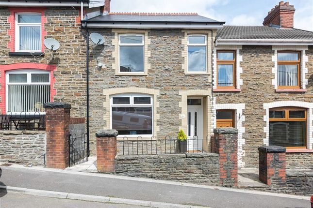 Thumbnail Terraced house for sale in Gwernifor Street, Mountain Ash