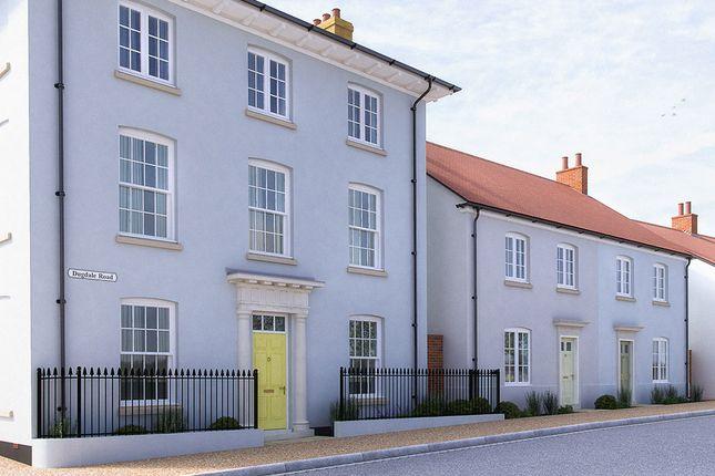 Thumbnail End terrace house for sale in Dugdale Road, Poundbury, Dorchester