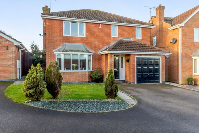 Thumbnail Detached house for sale in Meadow Grove, Newark, Nottinghamshire