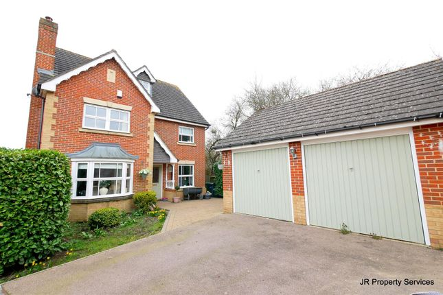 Thumbnail Detached house for sale in Jepps Close, Cheshunt, Waltham Cross