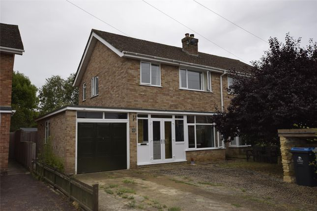Thumbnail Semi-detached house to rent in Marlborough Crescent, Long Hanborough, Witney, Oxfordshire