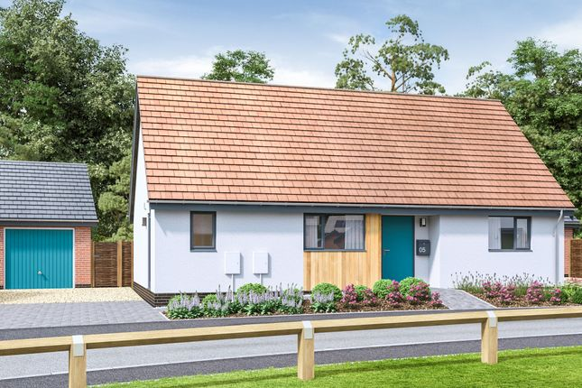 Thumbnail Detached bungalow for sale in Watton Green, Watton, Thetford