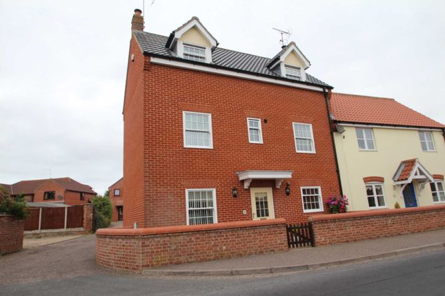 Thumbnail Semi-detached house for sale in Old Foundry Court, Old Road, Acle, Norwich