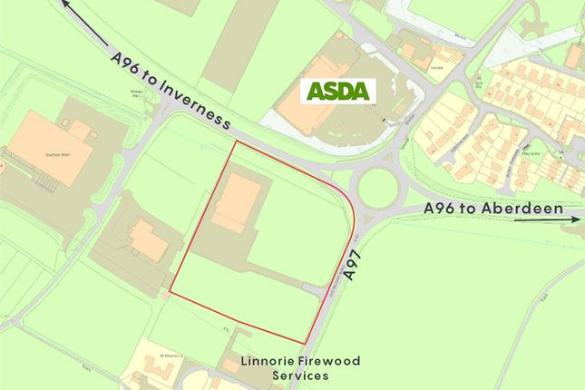 Thumbnail Land for sale in Linnorie Business Park, Huntly, Aberdeenshire