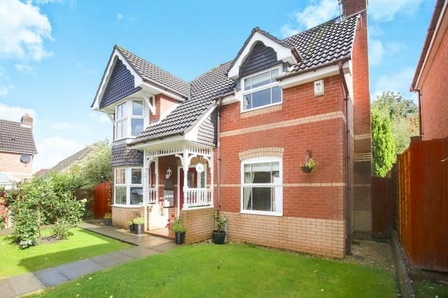 Thumbnail Detached house for sale in Beverley Way, Tytherington, Macclesfield, Cheshire