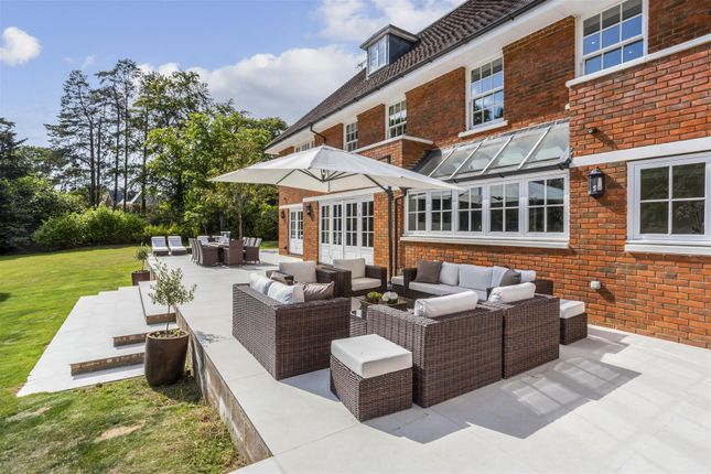 Thumbnail Detached house to rent in Woodlands Road West, Wentworth, Virginia Water