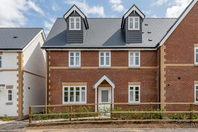 Thumbnail Semi-detached house for sale in Bookers Edge, Hay On Wye