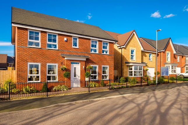 """4 bedroom detached house for sale in """"Thornbury"""" at The Crescent, Lawley Village, Telford"""