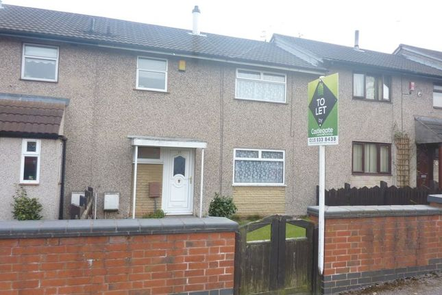 Thumbnail Terraced house to rent in Steadfold Close, Bulwell, Nottingham