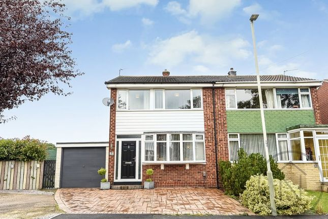 Thumbnail Semi-detached house for sale in Drinkfield Crescent, Darlington