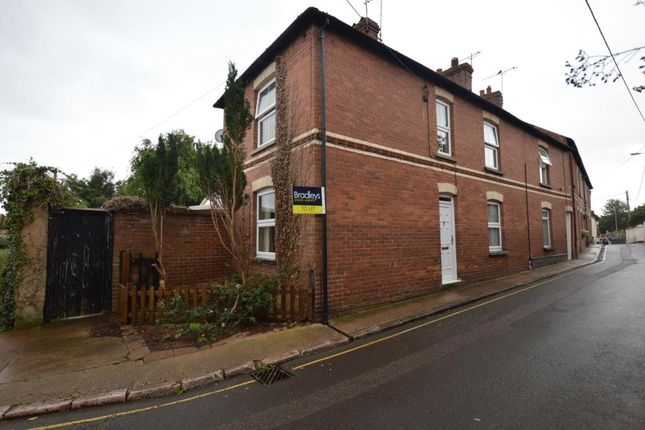 Thumbnail 3 bed end terrace house to rent in Dean Street, Crediton, Devon
