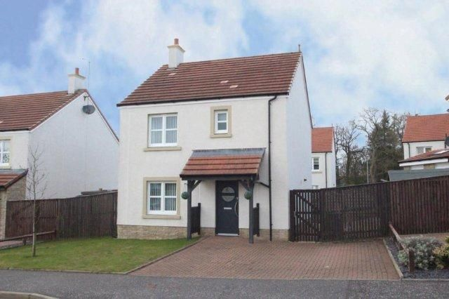 Thumbnail Detached house for sale in Netherplace Quadrant, Mauchline, East Ayrshire