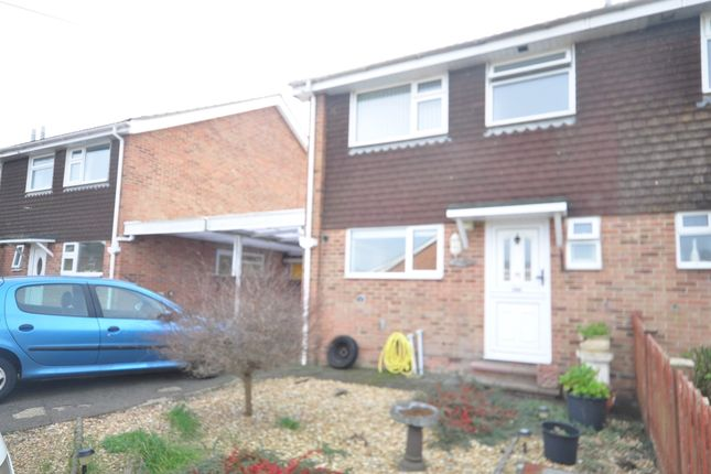 Thumbnail Semi-detached house to rent in Glebe Close, Hayling Island