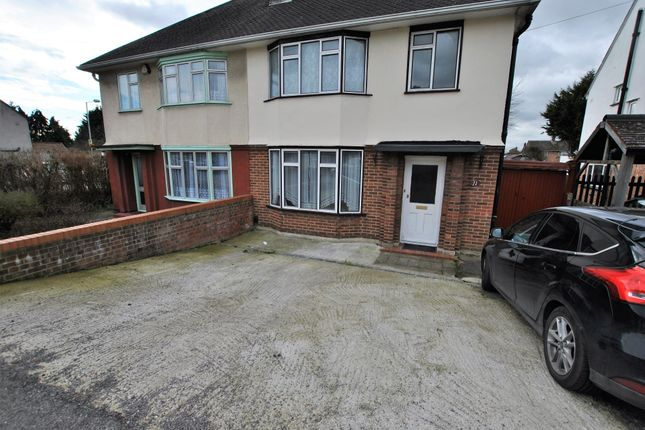Thumbnail Semi-detached house to rent in Royal Lane, Hillingdon, Middlesex