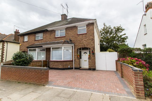 Thumbnail Semi-detached house for sale in Gainsborough Drive, Westcliff-On-Sea