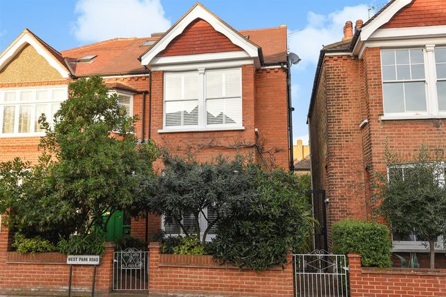 Thumbnail Semi-detached house for sale in West Park Road, Kew, Richmond