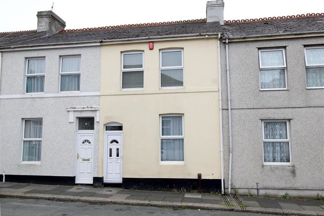 Thumbnail Terraced house for sale in Corporation Road, Peverell, Plymouth