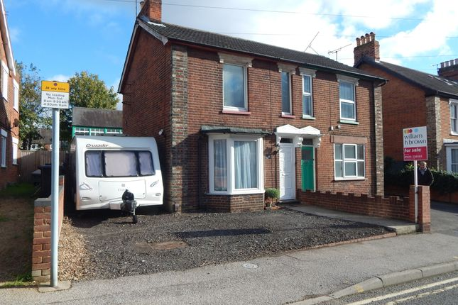 Thumbnail Semi-detached house for sale in Warwick Road, Ipswich