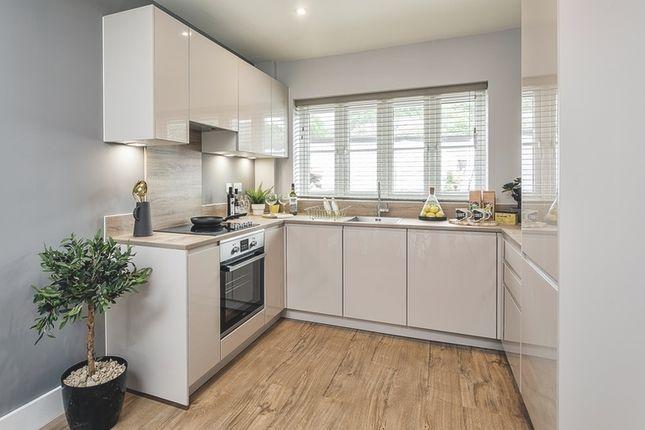 Kitchen of De Burgh Gardens, Tadworth KT20