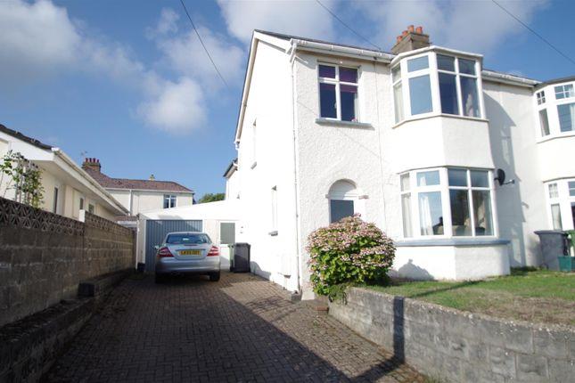 Thumbnail Semi-detached house for sale in Saunton Road, Braunton
