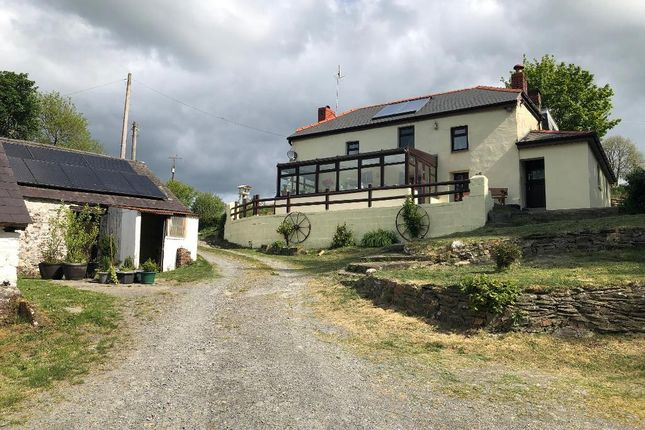 Thumbnail Detached house for sale in Cwmduad Road, Between Conwyl Elfed & Cwmduad, Carmarthenshire