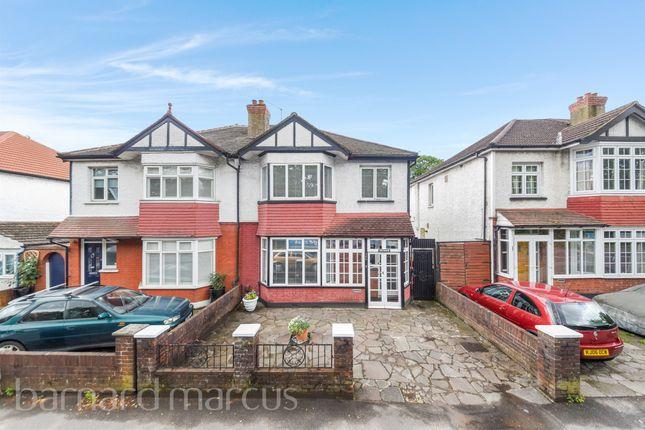 Thumbnail Semi-detached house for sale in Croydon Road, Wallington