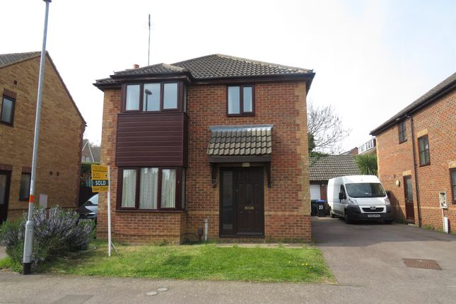 Thumbnail Detached house for sale in Partridge Close, Kingsthorpe, Northampton