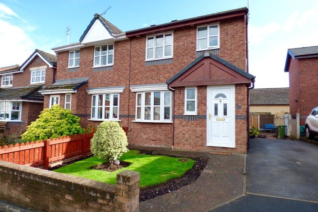 Thumbnail Semi-detached house for sale in Balmoral Close, Penrith, Cumbria