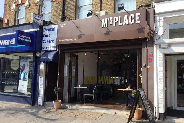 Thumbnail Restaurant/cafe for sale in High Road, London