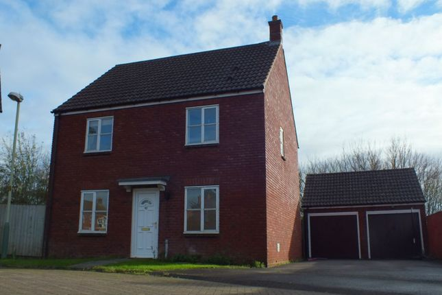 Thumbnail Detached house to rent in Cresswell Drive, Hilperton, Trowbridge