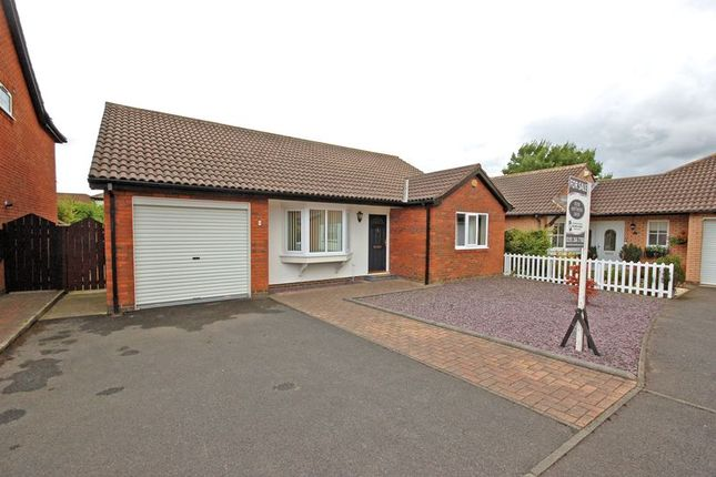 Thumbnail Detached bungalow for sale in West Wynd, Killingworth, Newcastle Upon Tyne