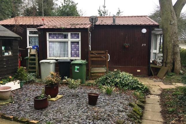 Thumbnail Mobile/park home for sale in Ranksborough Hall Park, Langham, Oakham, Rutland