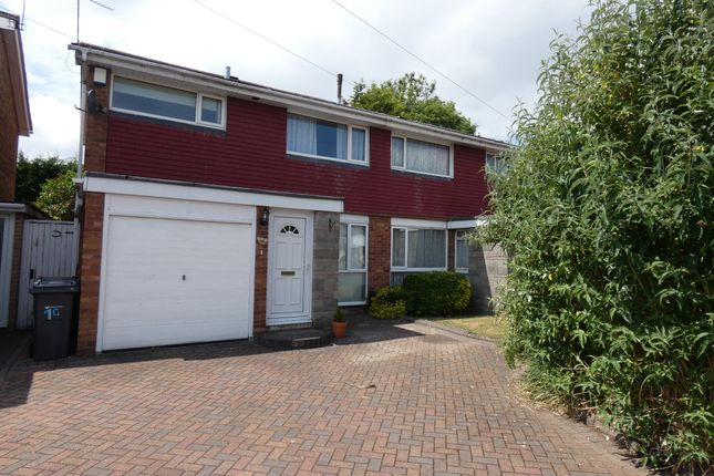 Thumbnail Semi-detached house for sale in Webster Close, Wylde Green, Sutton Coldfield