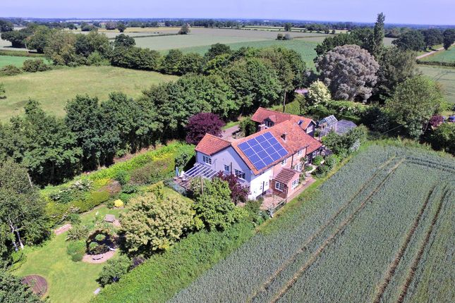 Thumbnail Detached house for sale in Mattishall Road, Garvestone, Norwich
